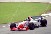 "ARROWS FA16 Taki Inoue British GP 1995 (A). 10x7"" photo"